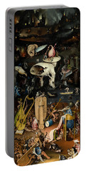 The Garden Of Earthly Delights. Right Panel Portable Battery Charger