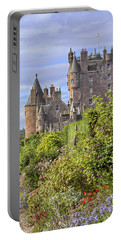 The Garden Of Glamis Castle Portable Battery Charger by Jason Politte
