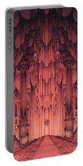 The Gates Of Barad Dur Portable Battery Charger