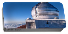 Portable Battery Charger featuring the photograph The Gemini Observatory by Jim Thompson