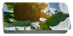 Portable Battery Charger featuring the photograph The Gigantic Sunflower by Verana Stark