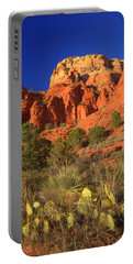 The Glory Of The Desert Red Rocks 1 Portable Battery Charger