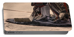 The Goalies Crease Portable Battery Charger