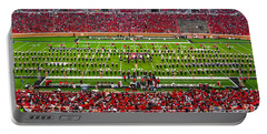 Portable Battery Charger featuring the photograph The Going Band From Raiderland by Mae Wertz