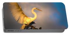 The Golden Egret Portable Battery Charger