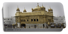 The Golden Temple In Amritsar Portable Battery Charger