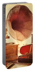 Portable Battery Charger featuring the photograph The Golden Years by Amy Weiss