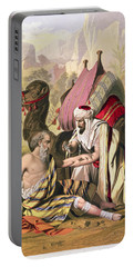 The Good Samaritan, From A Bible Portable Battery Charger
