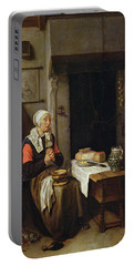 The Grace Oil On Panel Portable Battery Charger