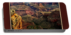 Portable Battery Charger featuring the photograph The Grand Canyon by Tom Prendergast