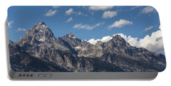 The Grand Tetons - Grand Teton National Park Wyoming Portable Battery Charger