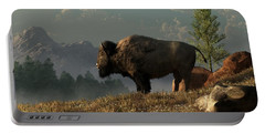 The Great American Bison Portable Battery Charger