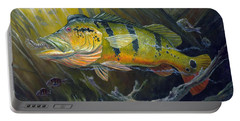 The Great Peacock Bass Portable Battery Charger