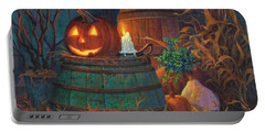 The Great Pumpkin Portable Battery Charger