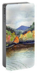 The Greenbriar River Portable Battery Charger by Katherine Miller