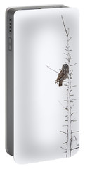 The Grey Hunter On White Portable Battery Charger