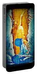 The Guardian Angel Portable Battery Charger by Absinthe Art By Michelle LeAnn Scott