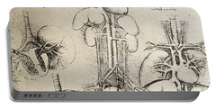 Nerves Drawings Portable Battery Chargers