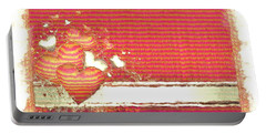 Portable Battery Charger featuring the digital art The Heart Knows by Liane Wright