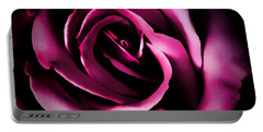 The Heart Of A Rose Portable Battery Charger