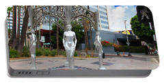 The Hollywood Boulevard Gazebo La Brea Gateway To Hollywood 5d28926 Portable Battery Charger