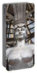 The Hollywood Boulevard Gazebo La Brea Gateway To Hollywood 5d28930 Portable Battery Charger