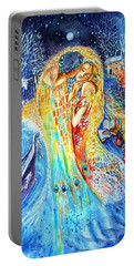 The Homecoming Kiss After Gustav Klimt Portable Battery Charger