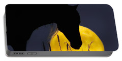 The Horse In The Moon Portable Battery Charger
