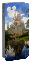 The House Of Cinderella Portable Battery Charger by David Lee Thompson
