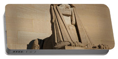 The House Of The Temple Sphinx #2 Portable Battery Charger