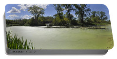 The Indiana Wetlands Portable Battery Charger by Verana Stark