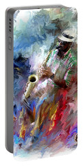 The Jazz Player Portable Battery Charger