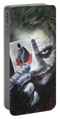 The Joker Heath Ledger  Portable Battery Charger