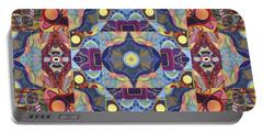 The Joy Of Design Mandala Series Puzzle 1 Arrangement 1 Portable Battery Charger