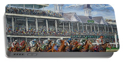 The Kentucky Derby - Churchill Downs Portable Battery Charger