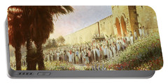 The King Is Coming  Jerusalem Portable Battery Charger