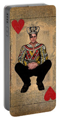 The King Of Hearts Portable Battery Charger