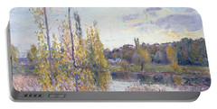 The Lake At Chevreuil Portable Battery Charger
