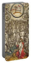 The Lamb Of God Appears On Mount Sion, 1498  Portable Battery Charger