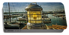 The Lamp At Embarcadero  Portable Battery Charger