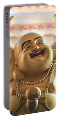 The Laughing Buddha Portable Battery Charger