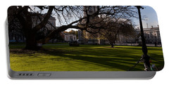 The Library Square, Trinity College Portable Battery Charger by Panoramic Images