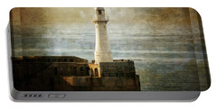 The Lighthouse Portable Battery Charger by Lucinda Walter
