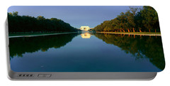 The Lincoln Memorial At Sunrise Portable Battery Charger by Panoramic Images