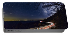The Linn Cove Viaduct Milky Way Portable Battery Charger