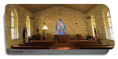 The Little Church Of La Villita Portable Battery Charger