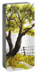The Living Tree By Prankearts Portable Battery Charger