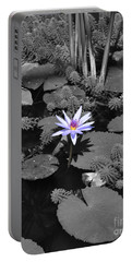 The Lone Flower Portable Battery Charger