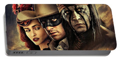 The Lone Ranger Portable Battery Charger by Movie Poster Prints