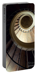 The Lost Wooden Tower Portable Battery Charger